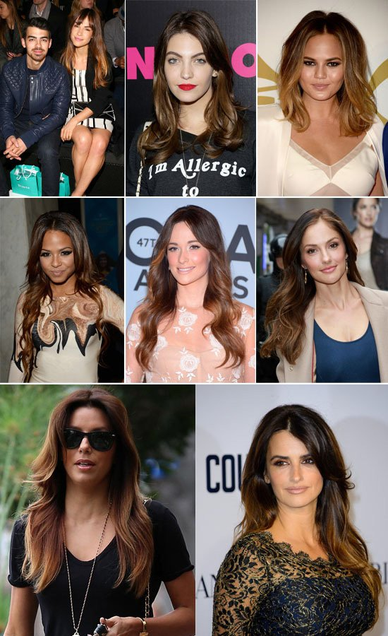 2014-celebrities-brown-sombre-hair-colors-collection