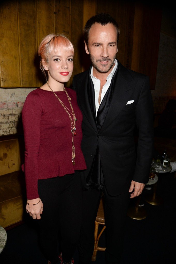 Celebration party for Tom Ford's new fragrance for men titled 'Noir Extreme' at Chiltern Firehouse, London, Britain on 12 Jan 2015.