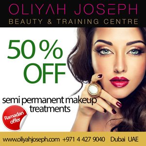 50% Sale on semi permanent makeup treatments!
